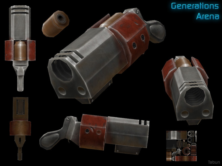 Strogg Grenade Launcher